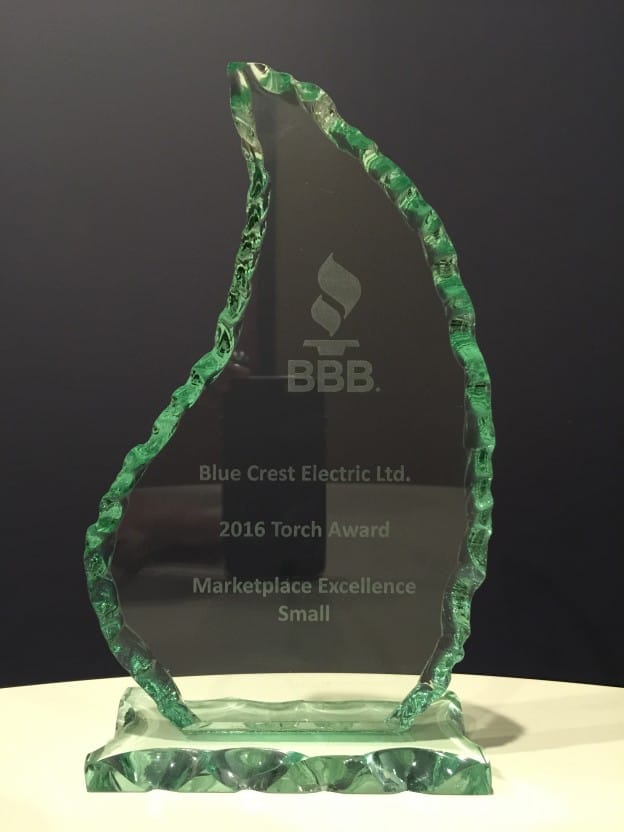 2016 BBB Torch Award in Marketplace Excellence