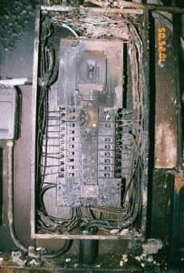 Old Electrical Service Panel