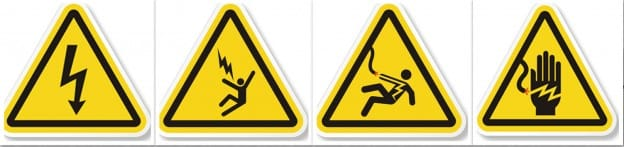 Electrical Danger Warning Signs