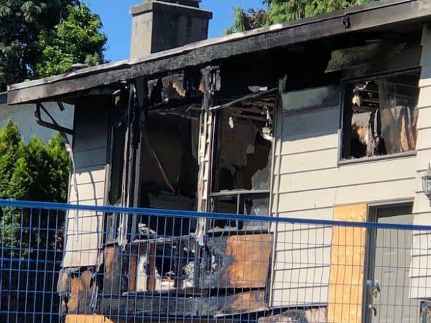 Burnt House - Blue Crest Electric